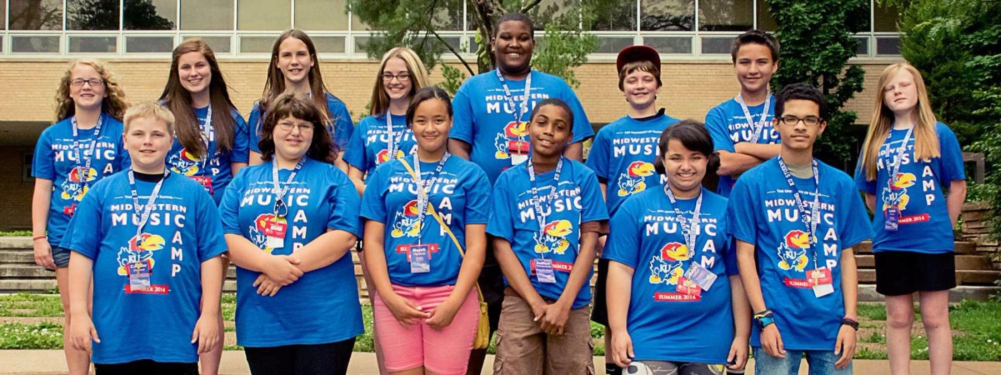 2014 Band of Angels Summer Band Camp Scholarship Recipients